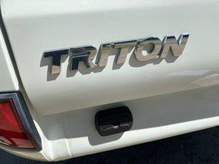 2012 Mitsubishi Triton MN GLX White Manual Utility