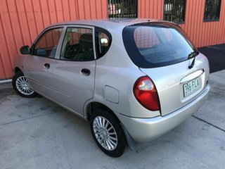 2000 Daihatsu Sirion M100RS Silver 4 Speed Automatic Hatchback