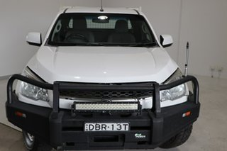 2015 Holden Colorado RG MY16 LS Space Cab White 6 Speed Manual Cab Chassis