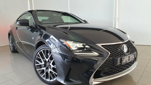 Used Lexus RC GSC10R RC350 F Sport Deer Park, 2017 Lexus RC GSC10R RC350 F Sport Black 8 Speed Sports Automatic Coupe