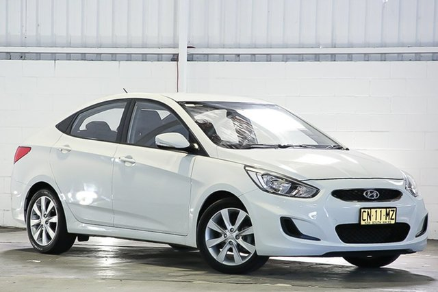 Used Hyundai Accent RB5 MY17 Sport West Gosford, 2017 Hyundai Accent RB5 MY17 Sport White 6 Speed Sports Automatic Sedan