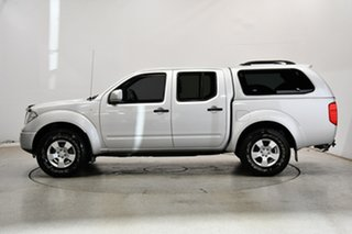 2013 Nissan Navara D40 S7 MY12 RX Silver 5 Speed Automatic Cab Chassis.