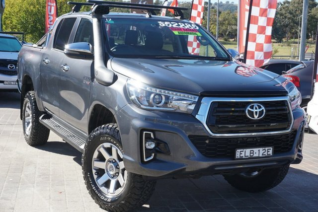 Used Toyota Hilux GUN126R SR5 Double Cab Phillip, 2018 Toyota Hilux GUN126R SR5 Double Cab Grey 6 Speed Sports Automatic Utility