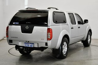 2013 Nissan Navara D40 S7 MY12 RX Silver 5 Speed Automatic Cab Chassis