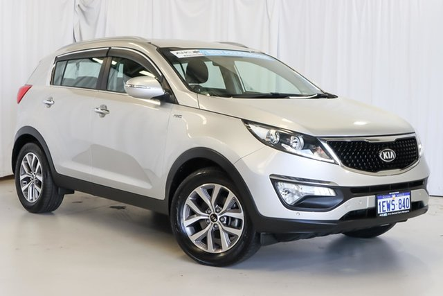 Used Kia Sportage SL MY14 SLi AWD Wangara, 2015 Kia Sportage SL MY14 SLi AWD Silver 6 Speed Sports Automatic Wagon