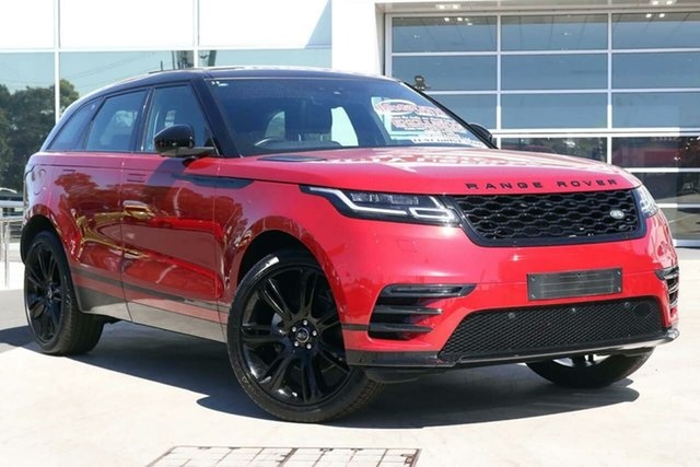 Used Land Rover Range Rover Velar L560 MY18 Standard R-Dynamic SE Liverpool, 2018 Land Rover Range Rover Velar L560 MY18 Standard R-Dynamic SE Firenze Red 8 Speed