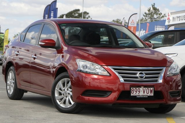 Used Nissan Pulsar B17 Series 2 ST Aspley, 2015 Nissan Pulsar B17 Series 2 ST Red 6 Speed Manual Sedan