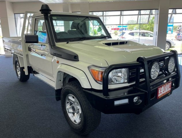 Used Toyota Landcruiser VDJ79R GXL Winnellie, 2020 Toyota Landcruiser VDJ79R GXL White 5 Speed Manual Cab Chassis