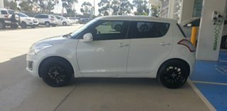 2014 Suzuki Swift FZ MY14 GL White 4 Speed Automatic Hatchback