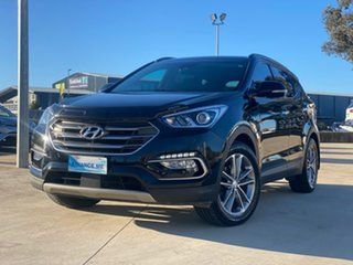 2016 Hyundai Santa Fe Highlander Black Sports Automatic Wagon.