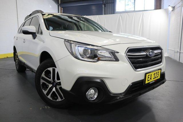 Used Subaru Outback B6A MY18 2.0D CVT AWD Castle Hill, 2018 Subaru Outback B6A MY18 2.0D CVT AWD White 7 Speed Constant Variable Wagon