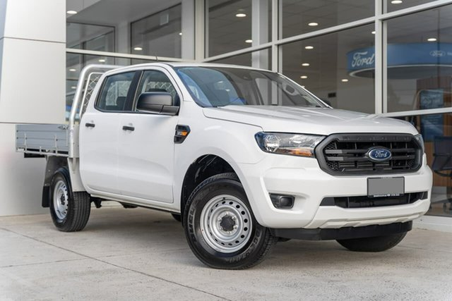 Used Ford Ranger PX MkIII 2020.75MY XL Ferntree Gully, 2020 Ford Ranger PX MkIII 2020.75MY XL White 6 Speed Sports Automatic Double Cab Chassis