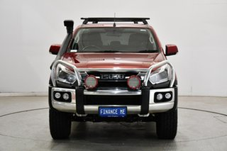 2018 Isuzu D-MAX MY17 LS-M Crew Cab Red 6 Speed Sports Automatic Utility.