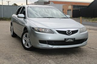 2005 Mazda 6 GG 05 Upgrade Classic Silver 5 Speed Auto Activematic Sedan.