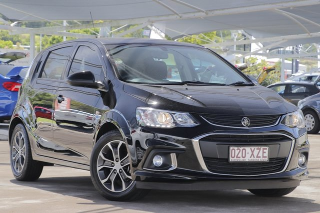 Used Holden Barina TM MY18 LS Bundamba, 2017 Holden Barina TM MY18 LS Black 6 Speed Automatic Hatchback
