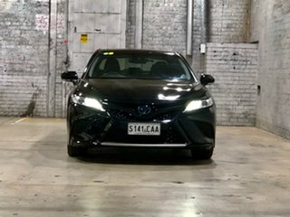 2019 Toyota Camry AXVH71R SL Black 6 Speed Constant Variable Sedan Hybrid.