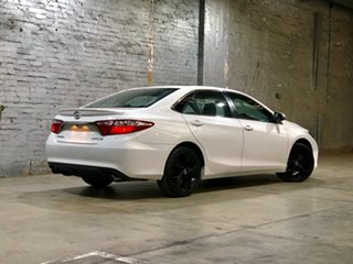 2015 Toyota Camry ASV50R Atara SX White 6 Speed Sports Automatic Sedan