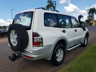 2000 Mitsubishi Pajero NL GLS White 5 Speed Manual Wagon