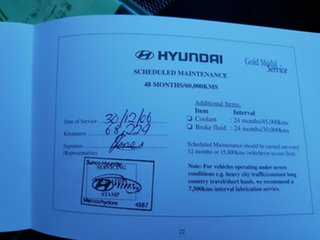 2004 Hyundai Elantra XD 2.0 HVT Black 4 Speed Automatic Sedan
