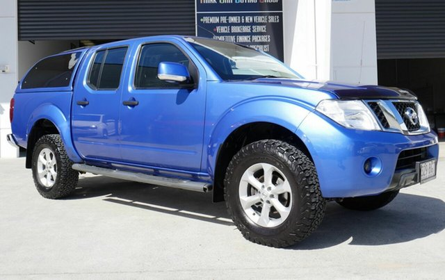 Used Nissan Navara D40 S6 MY12 ST Capalaba, 2013 Nissan Navara D40 S6 MY12 ST Blue 6 Speed Manual Utility