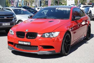 2012 BMW M3 E92 MY0911 M-DCT Red 7 Speed Sports Automatic Dual Clutch Coupe
