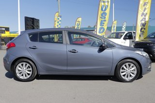 2014 Kia Cerato YD MY14 SI Planet Blue 6 Speed Sports Automatic Hatchback