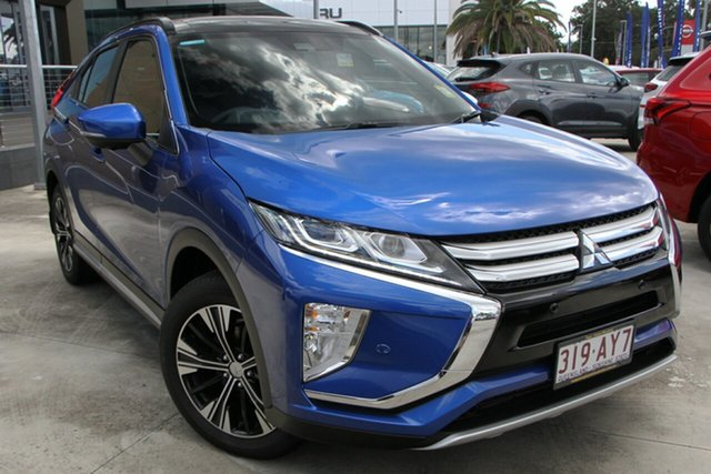 Demo Mitsubishi Eclipse Cross YA MY20 Exceed AWD Aspley, 2020 Mitsubishi Eclipse Cross YA MY20 Exceed AWD Lightning Blue 8 Speed Constant Variable Wagon