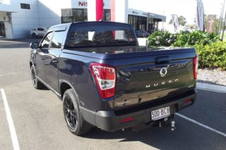 2020 Ssangyong Musso Q200 MY20 Ultimate Crew Cab Blue 6 Speed Sports Automatic Utility
