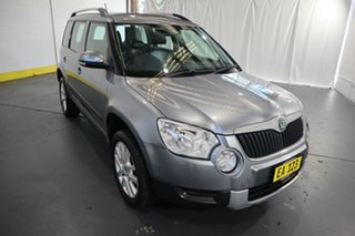 2013 Skoda Yeti 5L MY13 112TSI DSG Grey 6 Speed Sports Automatic Dual Clutch Wagon.