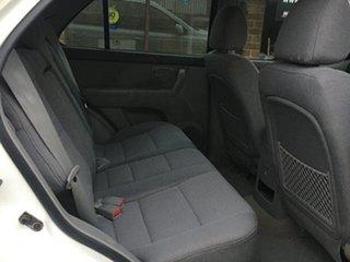 2006 Kia Sorento BL MY06 EX White 5 Speed Sports Automatic Wagon