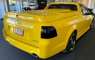 2011 Holden Ute VE II MY12 SS Yellow 6 Speed Manual Utility.