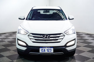 2014 Hyundai Santa Fe DM MY15 Active CRDi (4x4) White 6 Speed Automatic Wagon.