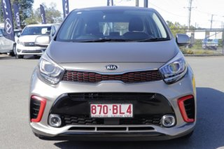 2019 Kia Picanto JA MY20 GT Titanium Silver 5 Speed Manual Hatchback