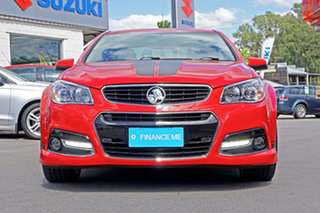 2015 Holden Commodore VF MY15 SS V Red 6 Speed Manual Sedan.