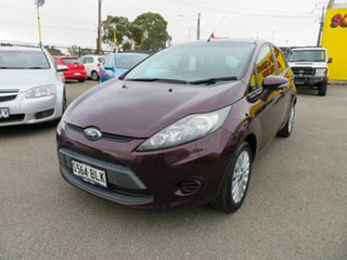 2012 Ford Fiesta WT LX Red 5 Speed Manual Hatchback.