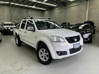 2012 Great Wall V200 K2 MY12 4x2 White 6 Speed Manual Utility.