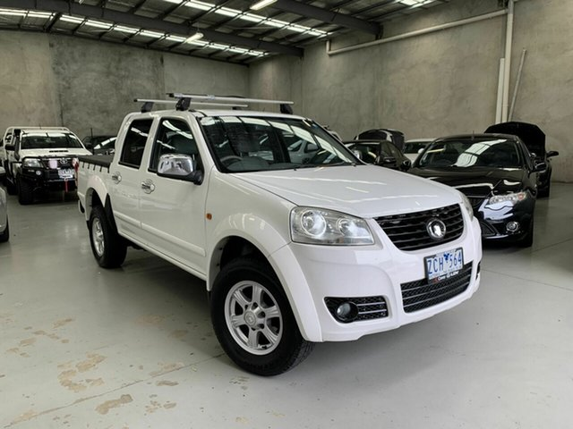 Used Great Wall V200 K2 MY12 4x2 Coburg North, 2012 Great Wall V200 K2 MY12 4x2 White 6 Speed Manual Utility