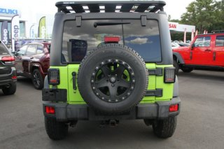 2012 Jeep Wrangler JK MY2013 Rubicon Green 5 Speed Automatic Softtop.