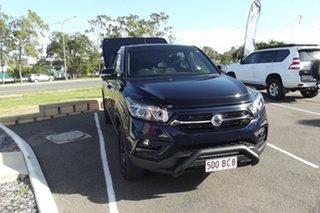 2020 Ssangyong Musso Q200 MY20 Ultimate Crew Cab Blue 6 Speed Sports Automatic Utility.