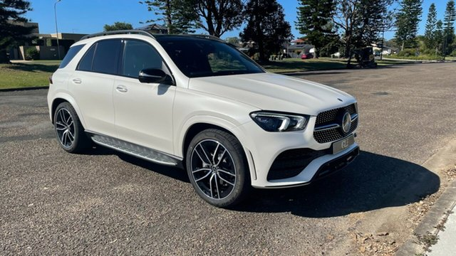 New Mercedes-Benz GLE-Class V167 801+051MY GLE400 d 9G-Tronic 4MATIC Port Macquarie, 2021 Mercedes-Benz GLE-Class V167 801+051MY GLE400 d 9G-Tronic 4MATIC Designo Diamond White Bright