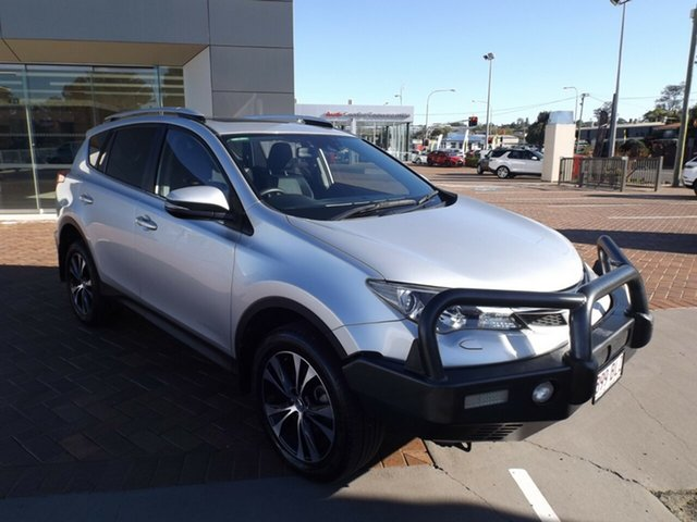 Used Toyota RAV4 ALA49R MY14 Cruiser AWD Toowoomba, 2014 Toyota RAV4 ALA49R MY14 Cruiser AWD Silver 6 Speed Sports Automatic Wagon