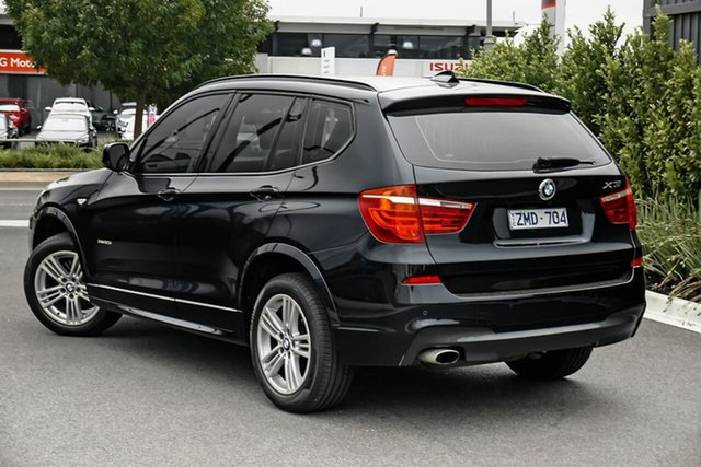 Used BMW X3 F25 MY1011 xDrive20i Steptronic Essendon Fields, 2011 BMW X3 F25 MY1011 xDrive20i Steptronic Blue 8 Speed Automatic Wagon