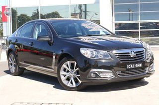 2014 Holden Calais VF MY15 Black 6 Speed Sports Automatic Sedan.