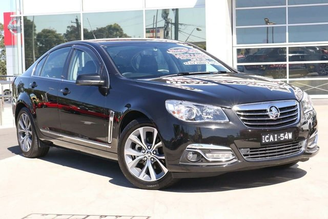 Used Holden Calais VF MY15 Liverpool, 2014 Holden Calais VF MY15 Black 6 Speed Sports Automatic Sedan