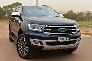 2020 Ford Everest UA II 2020.25MY Titanium Blue 10 Speed Sports Automatic SUV.