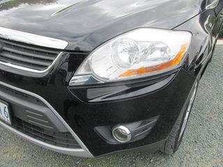 2012 Ford Kuga TE Titanium AWD Black 5 Speed Sports Automatic Wagon.