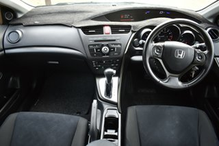 2013 Honda Civic 9th Gen MY13 VTi-S Silver 5 Speed Sports Automatic Hatchback