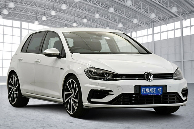 Used Volkswagen Golf 7.5 MY20 R DSG 4MOTION Victoria Park, 2020 Volkswagen Golf 7.5 MY20 R DSG 4MOTION White 7 Speed Sports Automatic Dual Clutch Hatchback
