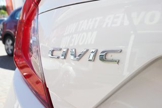 2020 Honda Civic 10th Gen MY20 VTi-L White 1 Speed Constant Variable Hatchback