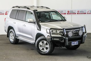 2016 Toyota Landcruiser VDJ200R MY16 GXL (4x4) Silver Pearl 6 Speed Automatic Wagon.